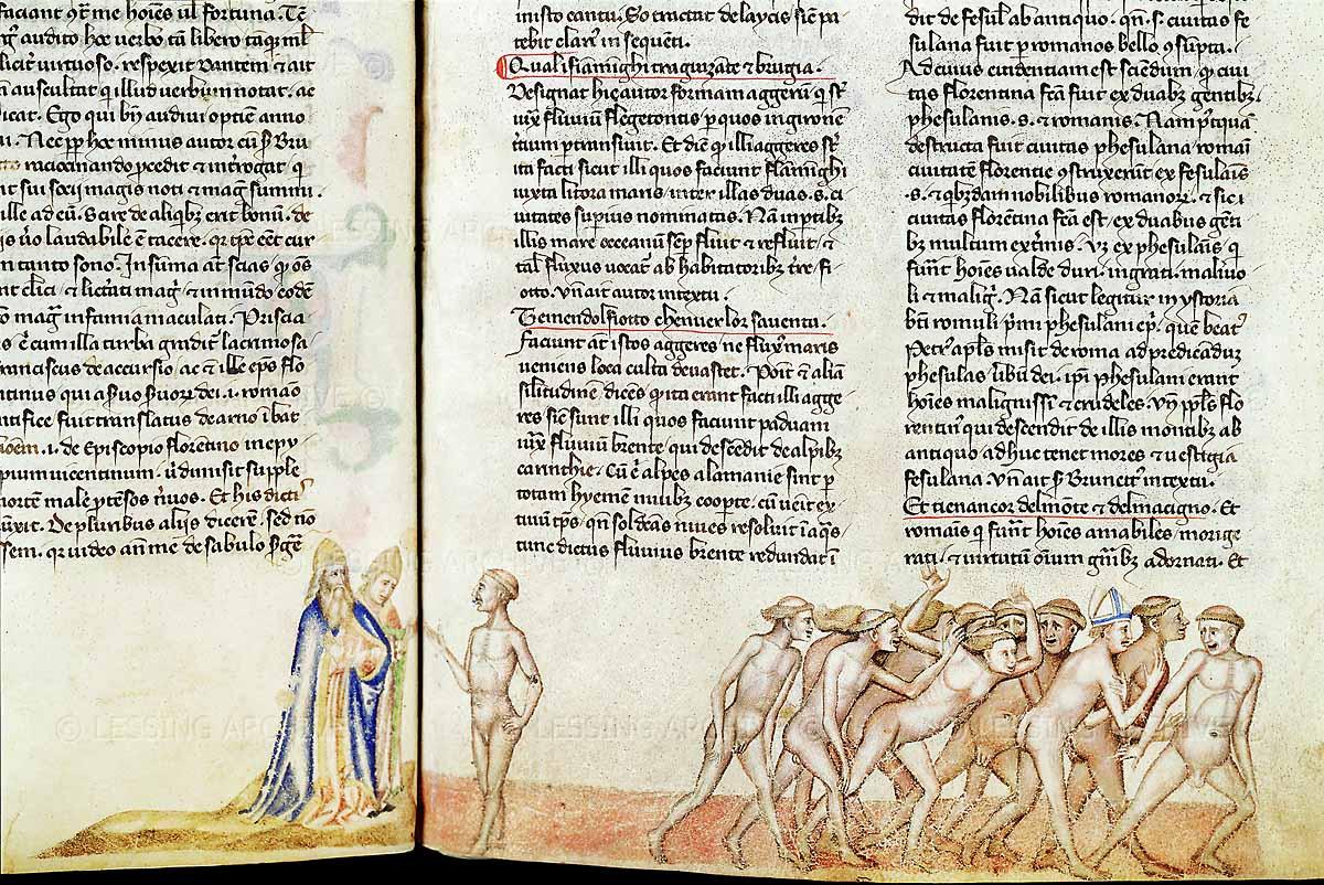 Canto XV Inferno di Dante - incontro con Brunetto Latini