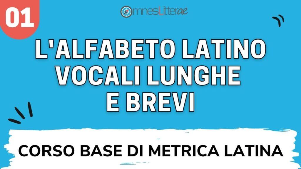 alfabeto latino quantità vocalica