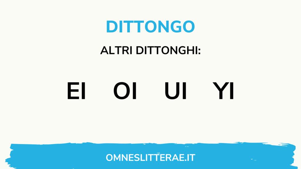 dittonghi latino pronuncia