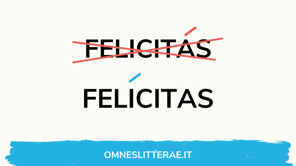 parole tronche latino