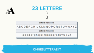 caratteri alfabeto latino