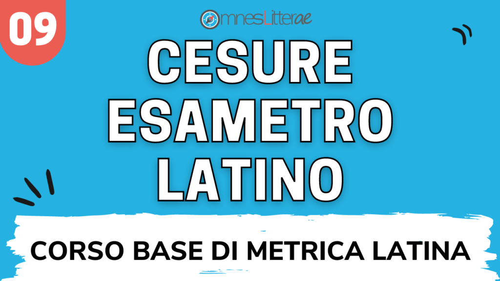 cesure esametro latino
