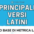 principali versi latini metrica latina